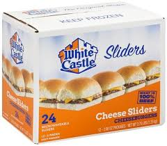 white castle cheese 100 beef 2 pack