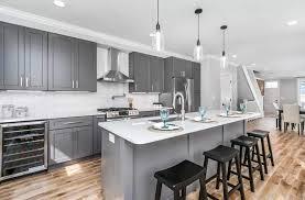 gray kitchen cabinets color psychology