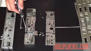 inside a upvc door mechanism s