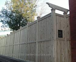 10 Foot Fence Design In White Cedar Lumber 8x8 Posts Fence Design Pergola Ideas For Patio Pergola With Roof
