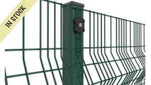 2 4m High V Mesh Security Fencing From 15 00 Per Metre Welcome To All Steel Fencing