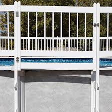 Protect A Pool Fence White Gate Kit Buy Online In Guam At Desertcart