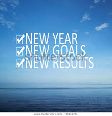 motivational quotes new year new goals stock image now