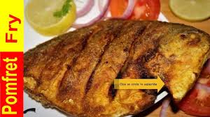 Pomfret Fish Fry Recipe
