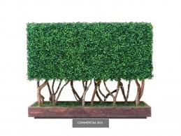 Artificial Boxwood Hedge Fake Privacy Hedge Fence Commercial Silk Int L