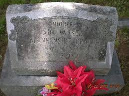 Ada Parker Craft (1898-1954) - Find A Grave Memorial