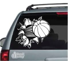 Basketball Car Decals Stickers Decal Junky