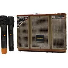 TẶNG MICRO KHÔNG DÂY ] Loa karaoke mini di động Temeisheng GD 06-39 kết nối  bluetooth công suất lớn, nghe nhạc hát karaoke cực hay + Bảo hành chính  hãng