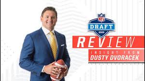 NFL Draft Review with ESPN Analyst Dusty Dvoracek - YouTube