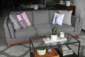article ceni sofa in pyrite gray