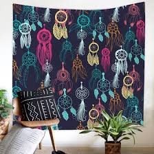 Shop Mnycxen Colorful Print Tapestry Art Room Wall Hanging Tapestry Art Nature Home Decor Online From Best Furniture And Decor On Jd Com Global Site Joybuy Com