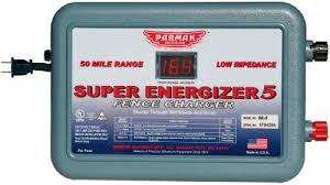 Parmak Super Energizer 4 Low Impedance 110 120 Volt 50 Mile Range Electric Fence Controller Se5 Cynthbxzb