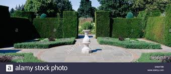 fountain garden sculpture stock photos