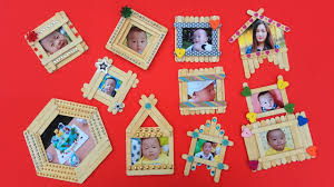 top 10 diy popsicle stick photo frame
