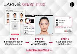 lakme makeover application