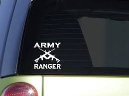 Army Ranger 6 Sticker Decal Police Miltary Army Navy Marines Air Force 2a Window Sticker Stickers Aliexpress