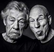 Ian McKellen and Patrick Stewart Have Been Friends for Over 50 ...