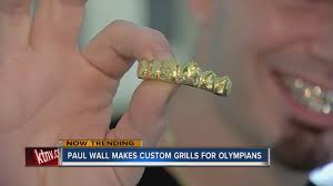 paul wall makes custom grills for