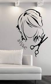Large Vinyl Decal Wall Sticker Hairdressing Beauty Salon Barber Shop D Wallstickers4you