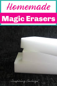 make your own magic erasers save