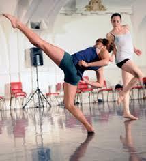 Dance Feast Postcard   Gaga Class with Bobbi Smith   Julie Potter