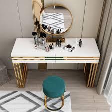 47 white vanity table set white
