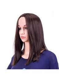 تسوق وباروكة شعر طويل وناعم Black 14بوصة أونلاين في السعودية