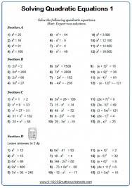 quadratic equation word problems grade