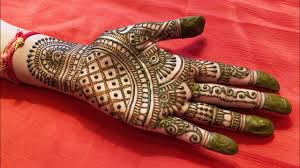 easy full hand indian mehndi designs