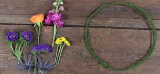 flower crown in 6 simple steps
