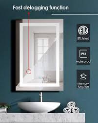24 x36 lighted bathroom vanity mirror