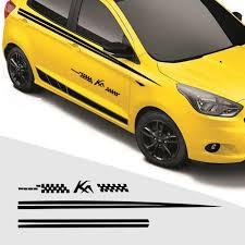 Diy Custom Car Decals For Ford Ka Car Sticker Car Side Body Decal Sticker For Hatchback Decals Car Decoration Stickers 280cm Car Stickers Aliexpress