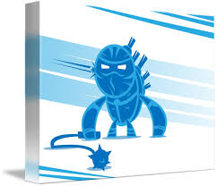 Blue Ninja by Wesley Johnston