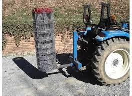 Very Simple Fence Unroller Build Tractor Idea Tractor Attachments Diy Fence