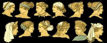 history of hairstyling ancient greece