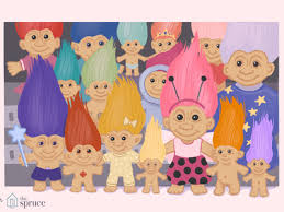troll doll history and collecting