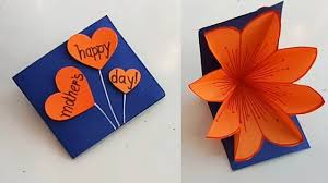 Handmade Mother's Day card /Mother's Day pop up card making idea... |  Birthday card craft, Handmade birthday cards, Card craft