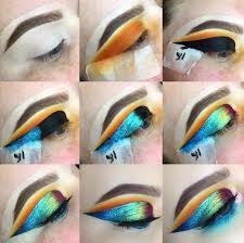 oil slick eye make up tutorial how to