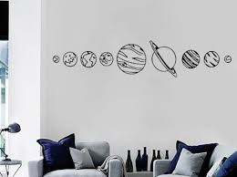 Solar System Wall Decals Glow In The Dark Large For Nursery Dinosaur Design Planet Halloween Shark Target Australia Vamosrayos
