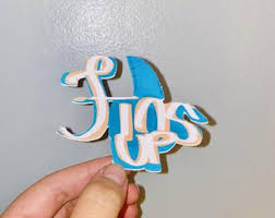 Fins Up Decal Etsy