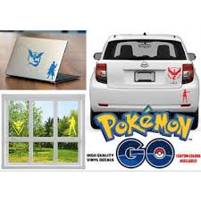 Pokemon Go Car Sticker Vinyl Decal Team Instinct Mystic Valo Buy Pokemon Go Car Sticker Vinyl Decal Team Instinct Mystic Valo Car Supplies Car Stickers Decals Product On Adnose Com Mobile