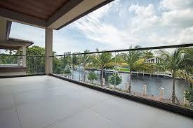 miami modern deck railing modern deck