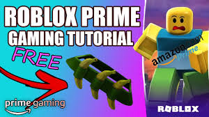ROBLOX AMAZON PRIME GAMING TUTORIAL! (August 2020 Codes) *NEW* Free  Banandolier - YouTube