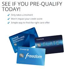 chase preapproved prequalified offers