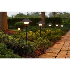 hampton bay low voltage bronze outdoor