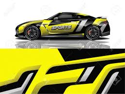 Sport Car Decal Wrap Design Vector Sport Car Decal Wrap Design Royalty Free Cliparts Vectors And Stock Illustration Image 139855514