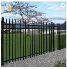 Farmhouse Solid Barrier Wrought Iron Fence Panels For Sale Ntif 006y On Buildmost