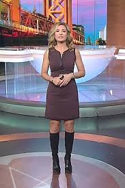 THE APPRECIATION OF BOOTED NEWS WOMEN BLOG : JEN CARFAGNO IS CLASSICALLY  CUTE ON THE WEATHER CHANNEL