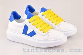 Дамски обувки Iva white blue - Iva white blue