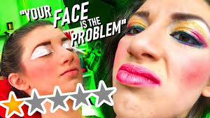 worst reviewed makeup artist in my city